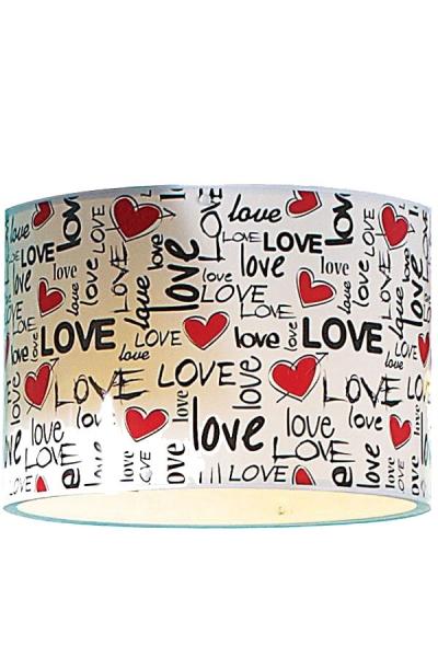 Dizayn Love Tekli Sarkıt Şapkası